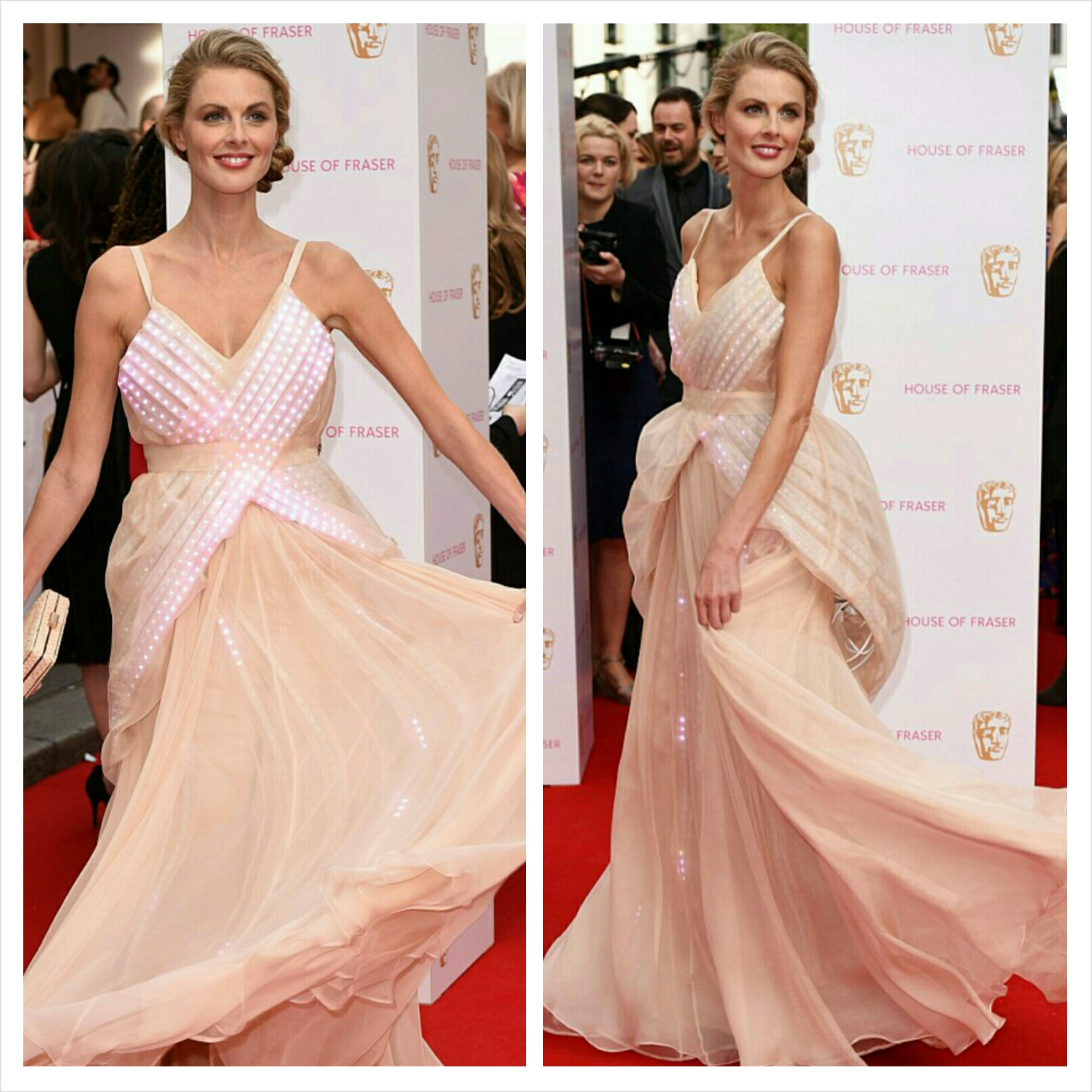 Donna Air's BAFTA Gown Gets A Touch Of Street