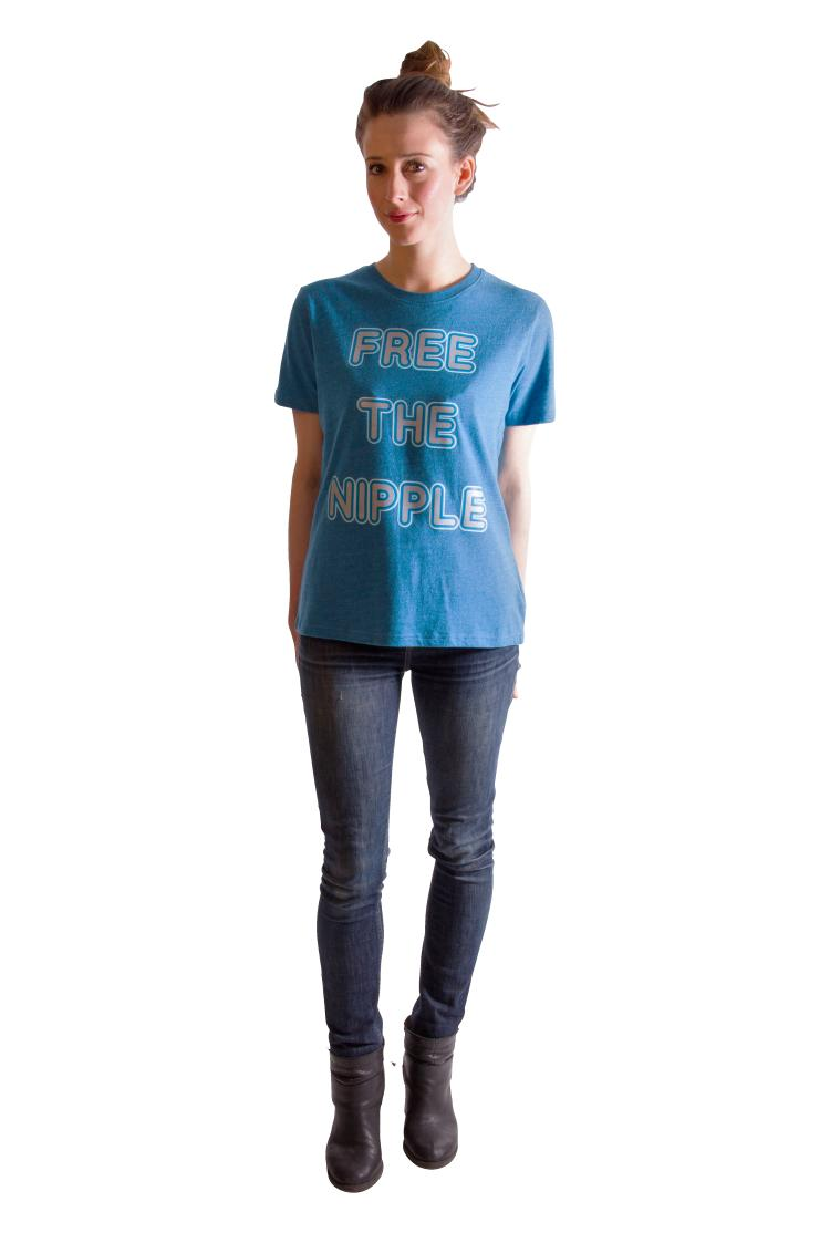 Free The Nipples Neon Unisex Classic fit T-shirt