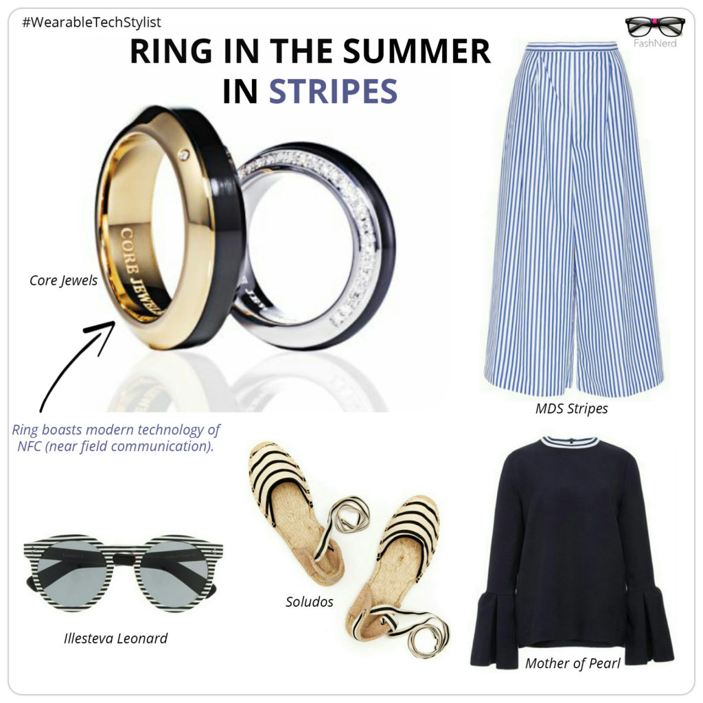 RING IN THE SUMMER IN STRIPES