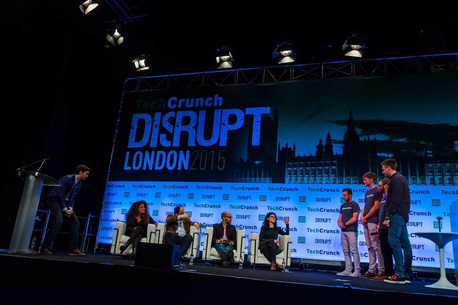 TechCrunch Disrupt London 2015. Image ©Dan Taylor/Heisenberg Media. For bookings contact - dan@heisenbergmedia.com or +447821755904
