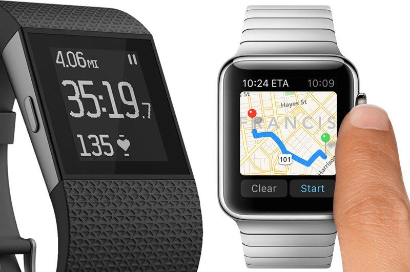 Fitbit-vs-apple-watch-gps