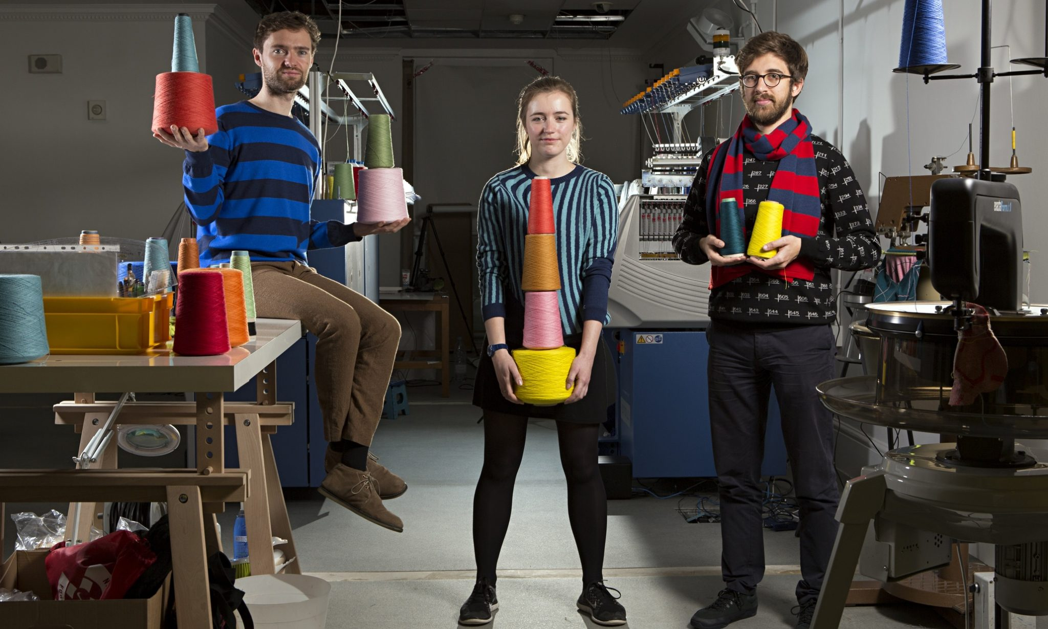 Founded by Royal College of Art trio, Ben Alun-Jones, Hal Watts and Kirsty Emery