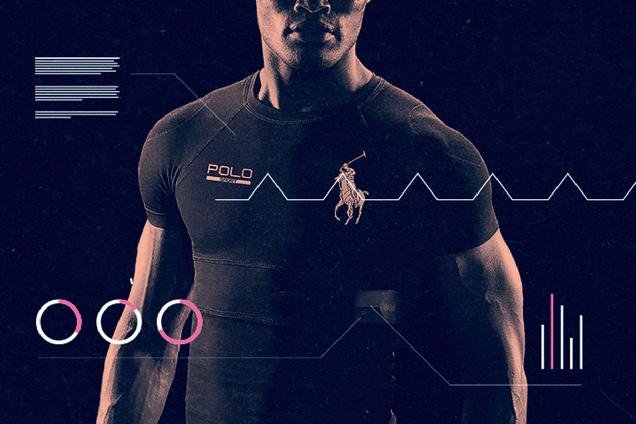 This Ralph Lauren shirt sends biometric data to your phone by OM Signal