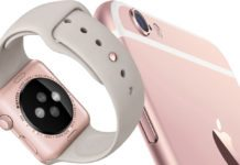 The Apple Watch iPhone Rose Gold