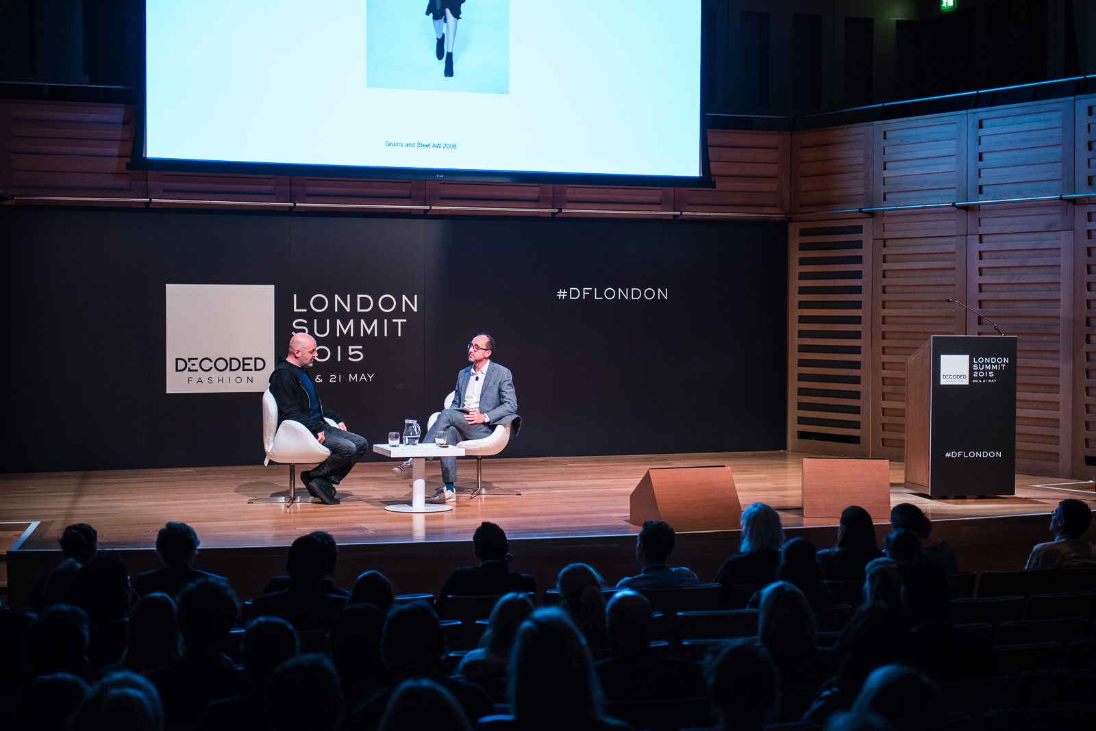 Decoded Fashion London, 20 May 2015, London, UK. Image ©Dan Taylor/Heisenberg Media - http://www.heisenbergmedia.com/