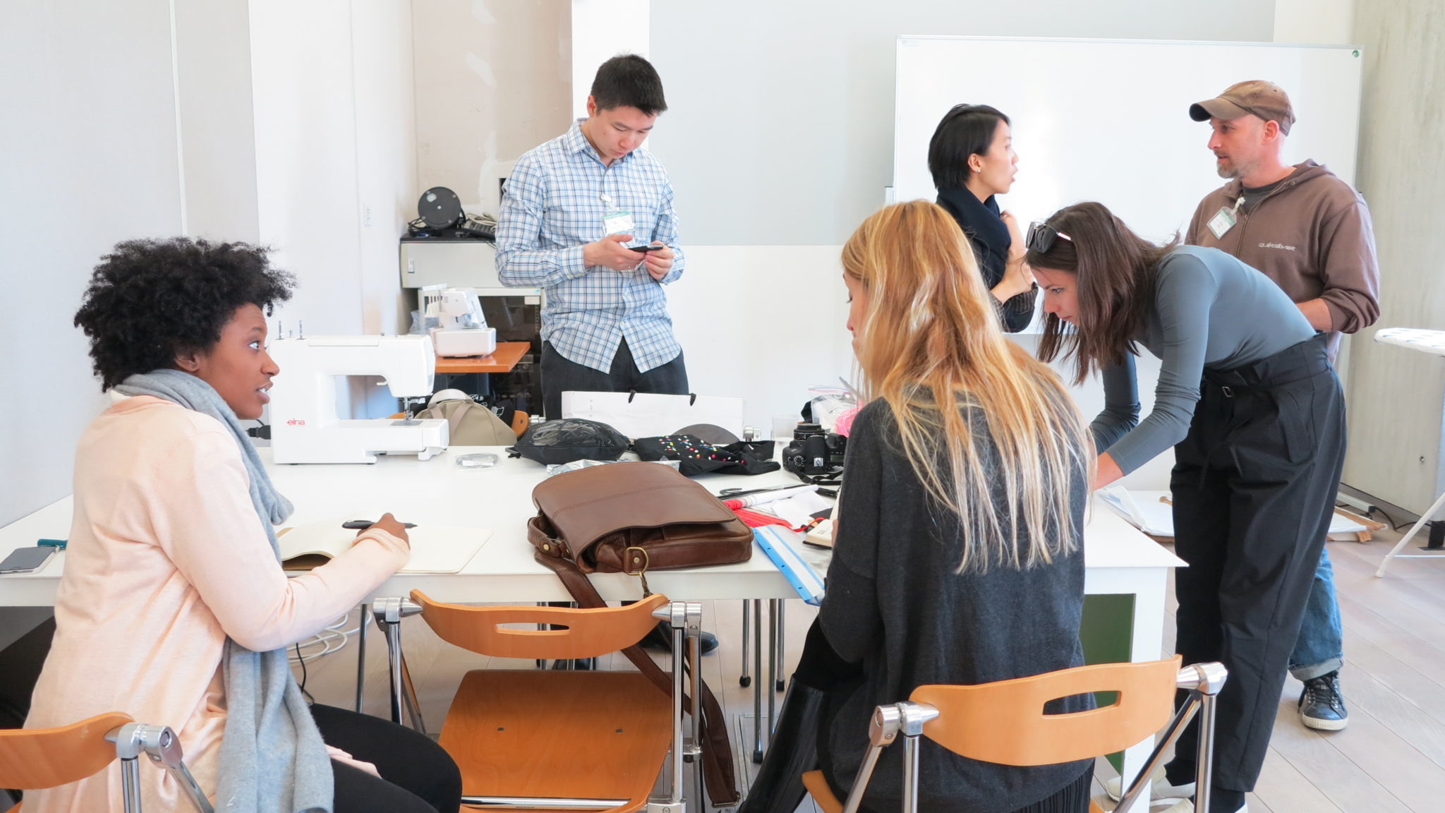 students designing for disabilities in slovenia