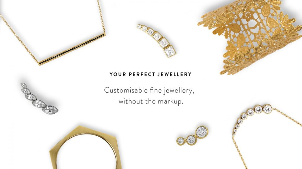 Gilded Lab offers customised made to order fine jewellery. Design your own jewellery using our bespoke digital design tool in just 5 easy steps