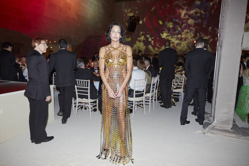 Lisa Maria Falcone's #METGALA16 Dress Designed by Artificial Intelligence