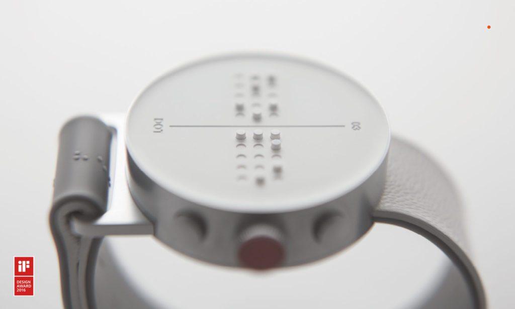Braille Smartwatch