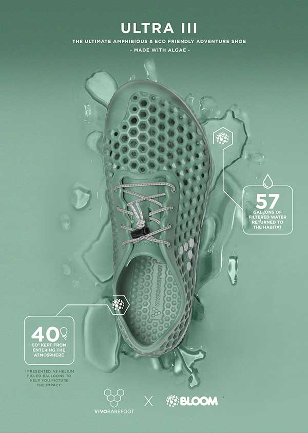Sustainable Algae Shoes