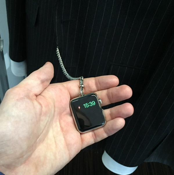 Tom Ford Apple Pocket Watch