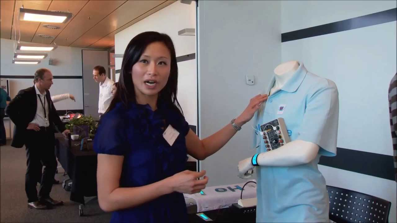 The Smart T-shirt introduced on 23/24 June 2015 in Brussels, Belgium