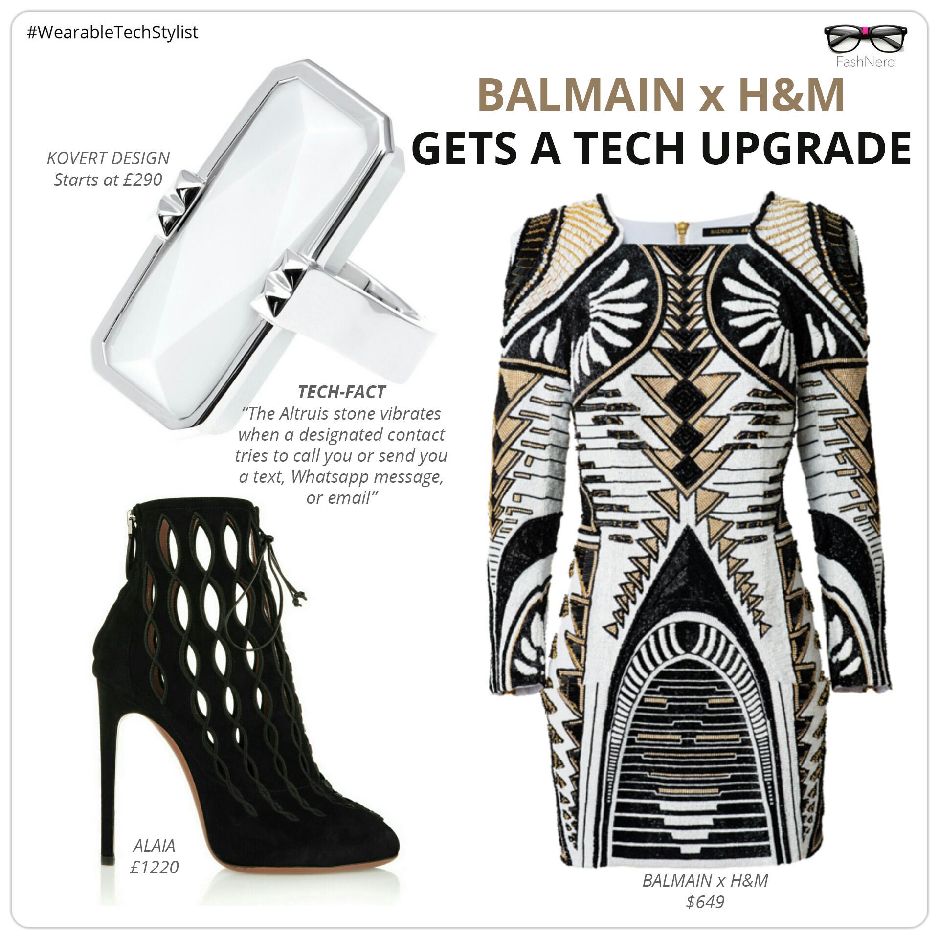 Balmain X HandM KOVERT DESIGN- FashNerd