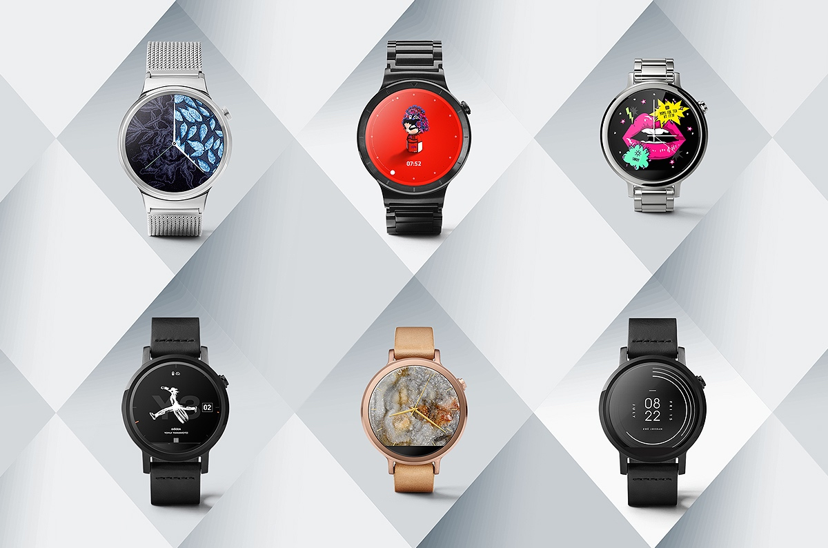 Fashion Designers x Google Android Wear Timepieces