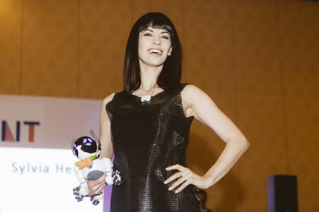 3D printed dress by Sylvia Heisel