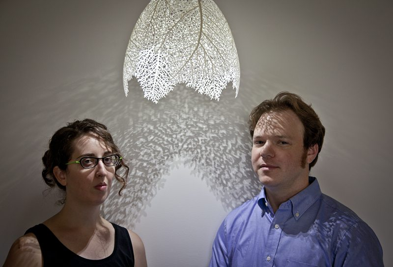 NERVOUS SYSTEM CO-FOUNDERS, JESSICA ROSENKRANTZ AND JESSE LOUIS-ROSENBERG (PHOTO BY KEN RICHARDSON)