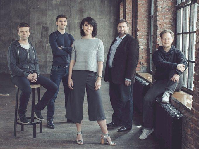 Nimb Founders, Leo Bereschansky, Nick Marshansky, Alex Medvedev, Kathy Roma and Dmitry Gordi