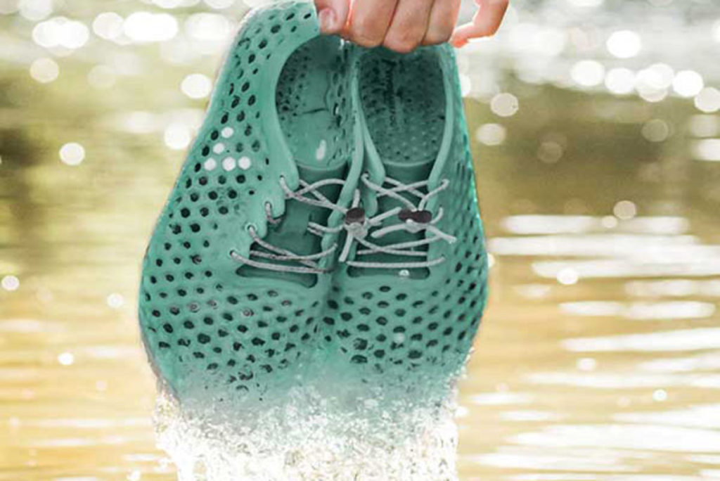 Sustainable Algae Shoes