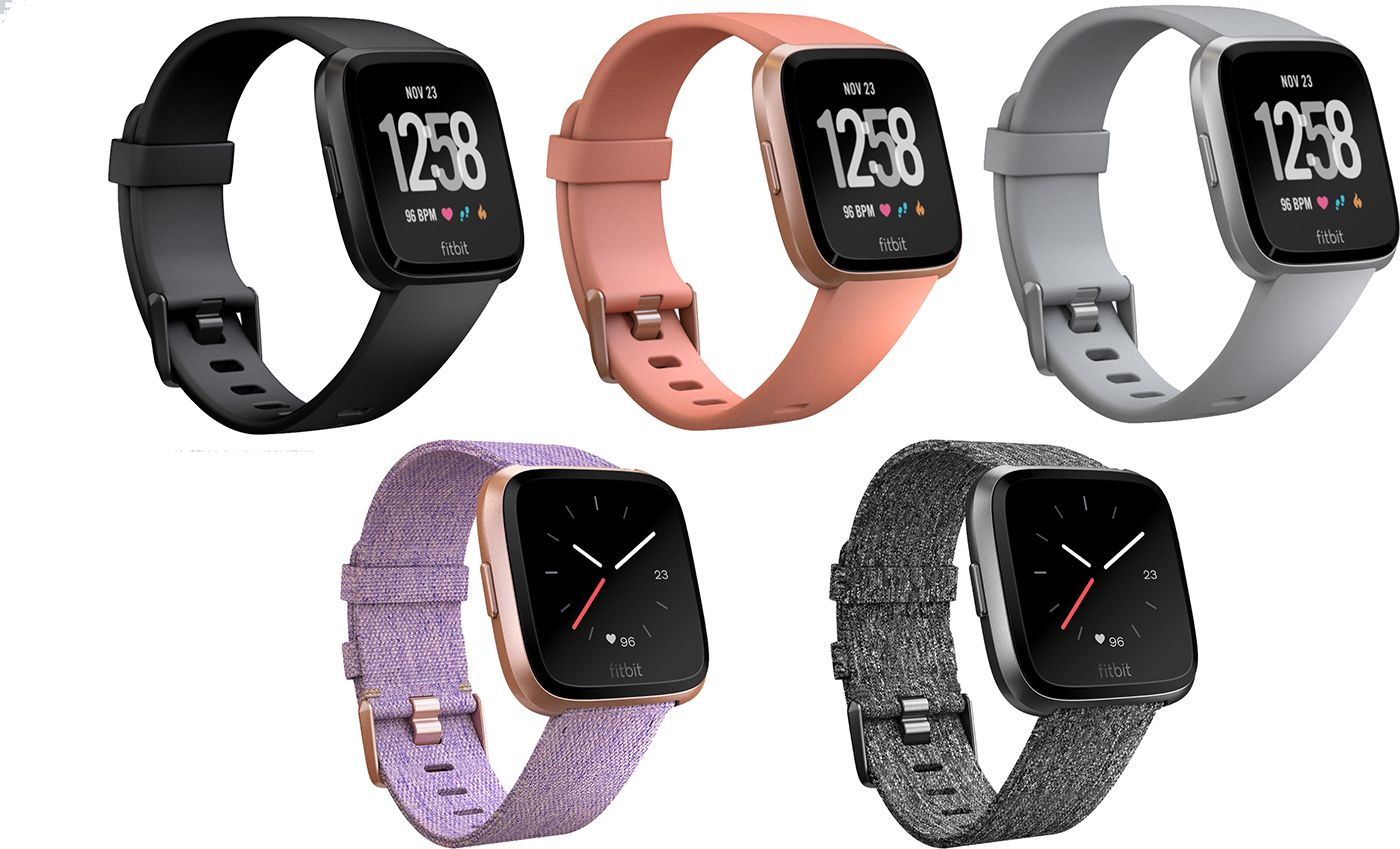 how to change clock on fitbit versa